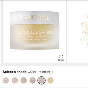 NEW Lancôme Absolue Powder in ABSOLUTE GOLDEN.